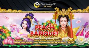 Read more about the article เกมสล็อตออนไลน์ Peach Banquet
